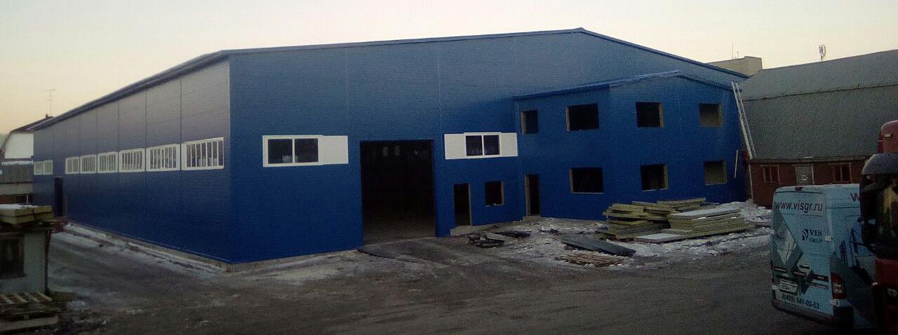 Производственно-складское здание, Люберцы